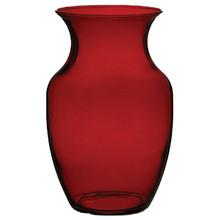 "8"" Rose Vase-Ruby"