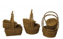 Vine Basket Set (3-pc)