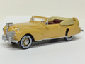 Oxford Diecast #87LC41004 Lincoln Continental '41 Convertible - Tan (HO)
