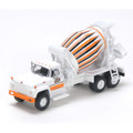 Athearn #91899 Ford F-850 Cement Mixer - Solid Concrete