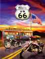 Leanin' Tree # BDG13824 Birthday Card - Route 66 Diner - Single