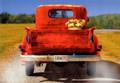 BRT16989 Birthday Card for Wife - Red Pickup
