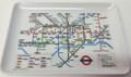 "Melamine 4""x6"" Tray - London Underground Transit Map"