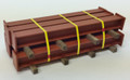 JWD #81916 H-Columns Vehicle Load w/yellow tie-downs (HO)