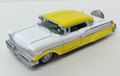 Oxford Diecast #87MT57002 Mercury '57 Turnpike Cruiser - Yellow/White (HO)