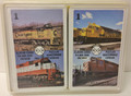 Vintage '76 Mainliner Rail Road Card Game by Dave Morin (2 Decks)