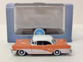 Oxford Diecast #87BC55002 Buick 1955 Century - Coral/White (HO)