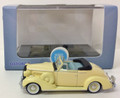 Oxford Diecast #87BS36002 Buick '36 Convertible Coupe - Cream (HO)