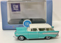 Oxford Diecast #87CN57003 Chevy '57 Nomad - Surf Green/Ivory (HO)