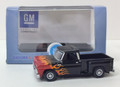 Oxford Diecast #87CP65004 Chevy '65 Stepside Pickup - Black/Orange (HO)