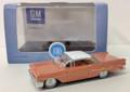 Oxford Diecast #87PB59002 Pontiac Bonneville Coupe '59 - Coral (HO)