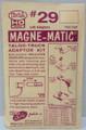 Kadee #29 - 20 Series Magne-Matic Couplers - Long Overset Shank (HO)