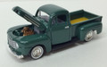 Classic Metal Works #30104C '50 Ford Pickup - Forest Green (HO)