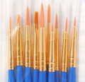 Plaid Artist Detail Brush Set (10-pk) #44278