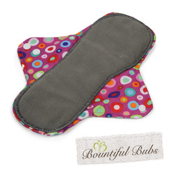Reusable Cloth Maternity Pad - Absorbent Charcoal Bamboo - Bountiful Bubs