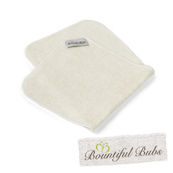 Bamboo Burp Cloths - Pack of 6 - Bountiful Bubs