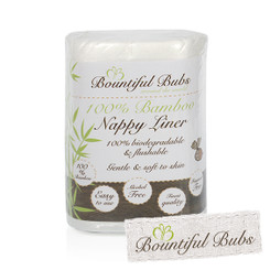 "Disposable Nappy Liners -Bamboo FREE with ""Secret Code"""