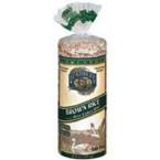 Lundberg Farms Rice Cakes Brown Rice Cake No Salt (12x8.5 Oz)