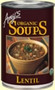 Amy's Kitchen Golden Lentil Soup (12x14.4 Oz)