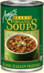 Amy's Kitchen Hearty Rustic Italian vegetable Soup (12x14 Oz)