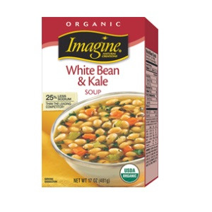 Imagine Foods White Bean & Kale, Chunky (12x17 OZ)