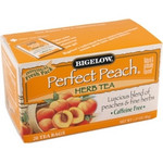 Bigelow Perfect Peach Herbal Tea (6x20 Bag )
