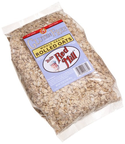Bob's Red Mill Rolled Oats Gluten Free (4x32 Oz)