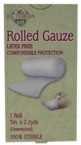 "All Terrain Gauze Rolled 3"" (1x2.5 YD)"