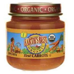 Earth's Best Baby Foods Baby 1St Carrots (12x2.5OZ )