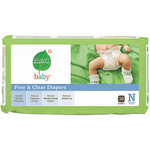 Seventh Generation Baby Diapers Newborn to 10 (4x36 CT)