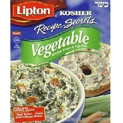 Lipton Kosher Veg Soup (12x2OZ )
