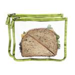 Blue Avocado Lunch Zip Bag Kiwi (1x2 Count)