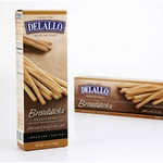 De Lallo Italian Traditional Grissini Breadsticks (12x4.4Oz)
