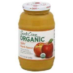 Santa Cruz Organics Apple Peach Sauce (12x23OZ )