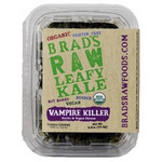 "Brad's Raw Foods ""Vampire Killer"" KaleGarlic & Vegan Cheese Flavor (12x2.5Oz)"