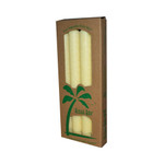 Aloha Bay Palm Tapers Cream (4 Candles)