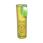 Aloha Bay Unscented Chakra Jar Protection Manipura Yellow (1 Candle)