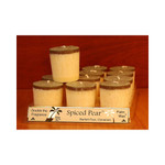 Aloha Bay Votive Candle Spiced Pear (12x2 Oz)