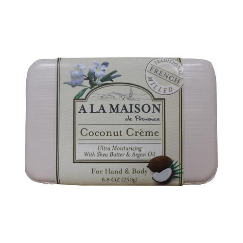 A La Maison Bar Soap Coconut Creme (8.8 Oz)