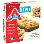 Atkins Advantage Bar Chocolate Peanut Butter Pretzel 5 ct 1.7 Oz