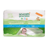 Seventh Generation Baby Wipe Refil F&C (1x128 CT)
