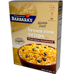 Barbara's Bakery Brown Rice Crisp Fjs (6x10OZ )