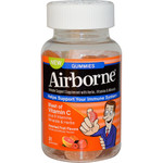 Airborne Vitamin C Gummies for Adults Assorted Fruit Flavors (1x21 Count)
