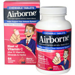 Airborne Chewable Tablets with Vitamin C Berry (1x64 Tablets)