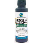 Amazing Herbs Black Seed Oil Blend Styrian Pumpkin Seed (1x8 Oz)