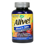 Nature's Way Alive! Men's 50+ Gummy Multi-Vitamins (75 Chewables)