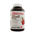 American Health Acerola Plus Natural Vitamin C Berry 100 mg (1x250 Chewables)