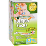 Eco Friendly Bags Green N Pack Diaper Sacks Baby Powder Scented 300 Bags 1 Count