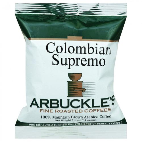 Arbuckles' Coffee Colombian Supremo 1.3 oz Case of 10
