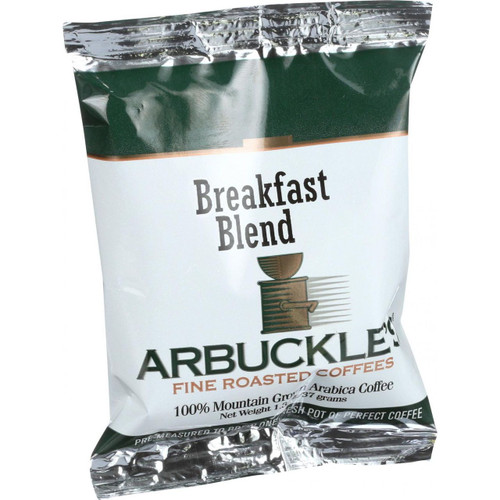 Arbuckles' Coffee Breakfast Blend 1.3 oz Case of 10